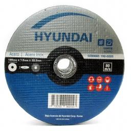 Disco Corte Metal 180 x 1.6  x 22.2  (5 unidades) Acero Inoxidable