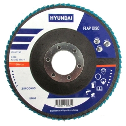 Disco Flap Ox.Zirconio 115x22.2 Gr.100 (5 unidaes)