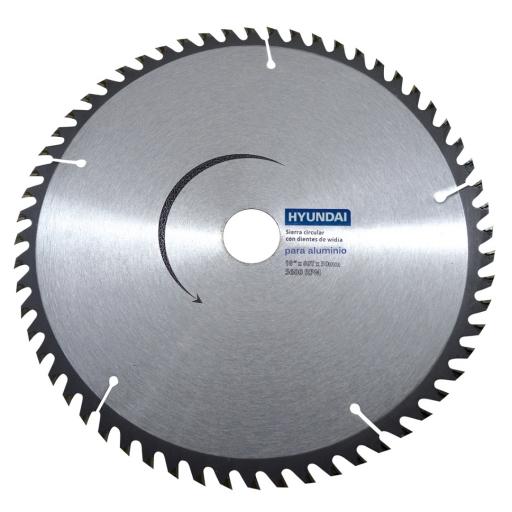 Hoja Circular Widia Aluminio / PVC